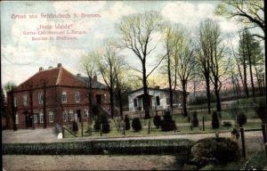 Ak Schönebeck Bremen, Neue Weide, Bes. H. Grothusen