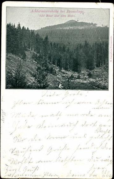 10 alte Ak Braunlage im Oberharz, diverse Ansichten