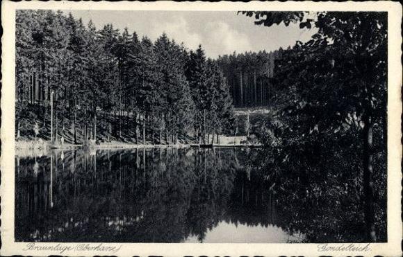 10 alte Ak Braunlage im Oberharz, diverse Ansichten 0