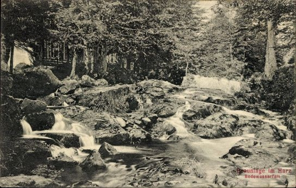 10 alte Ak Braunlage im Oberharz, diverse Ansichten 1