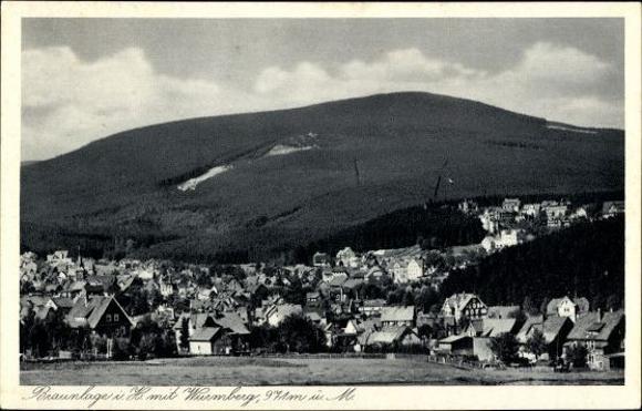 10 alte Ak Braunlage im Oberharz, diverse Ansichten 7