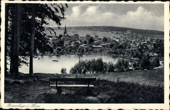 10 alte Ak Braunlage im Oberharz, diverse Ansichten 9