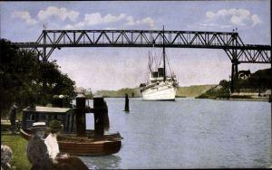 Ak Kiel in Schleswig Holstein, Prinz Heinrich Brücke am Kaiser Wilhelm Kanal