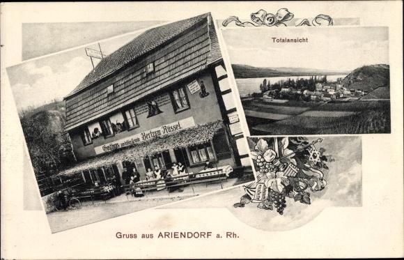 Ak Ariendorf Bad Hönningen Rheinland Pfalz, Gasthaus zum kühlen Grunde, Inh. Bertram Rüssel