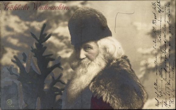 Ak Frohe Weihnachten, Weihnachtsmann, Portrait, RPH S 1238/1