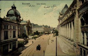 Ak București Bukarest Rumänien, Calea Victoriei
