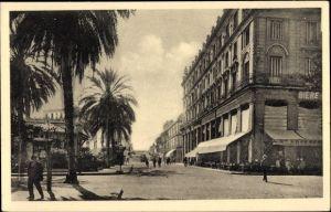 Ak Bone Algerien, Palais Lecoq et Rue Thiers