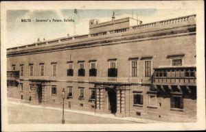 Ak Valletta Malta, Governor's Palace, Palast des Gouverneurs