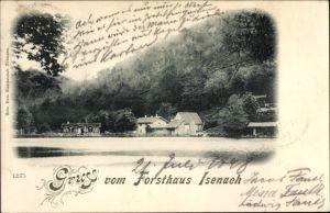 Ak Bad Dürkheim am Pfälzerwald, Blick zum Forsthaus Isenach