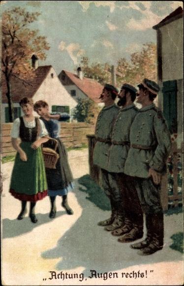 mit soldaten flirten