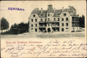 Ak Schledehausen Bissendorf in Niedersachsen, Sanatorium