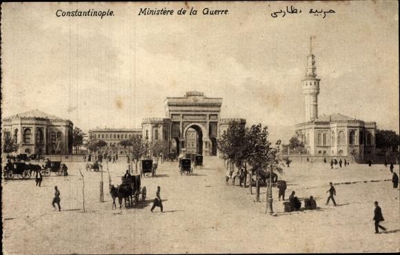 Ak Konstantinopel Istanbul Türkei, Ministère de la Guerre