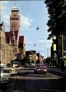 Ak Berlin Neukölln Rixdorf, Karl Marx Straße