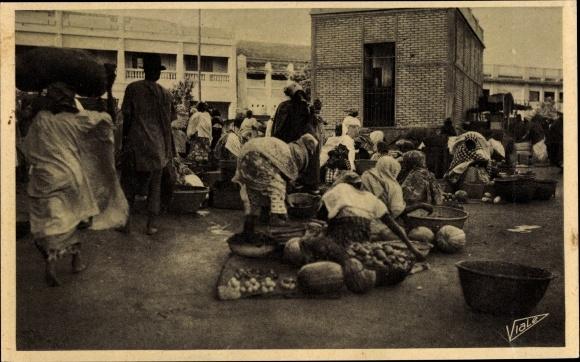 Ak Dakar Senegal, Les marchandes de légumes, Gemüseverkäuferinnen