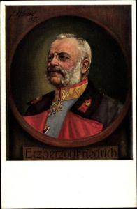 Künstler Ak Ulmer, F., Erzherzog Friedrich von Österreich-Teschen, Portrait