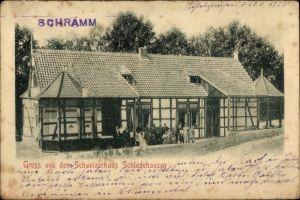 Ak Schledehausen Bissendorf in Niedersachsen, Schweizerhaus, Außenansicht