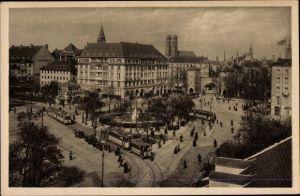 Ak München Bayern, Partie am Sendlinger Torplatz, Sendlinger Tor