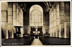 Ak Münster in Westfalen, Erphokirche, Innenansicht