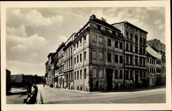 Ak Berlin Mitte, Friedrichsgracht und Fischerstraße, Gebäude