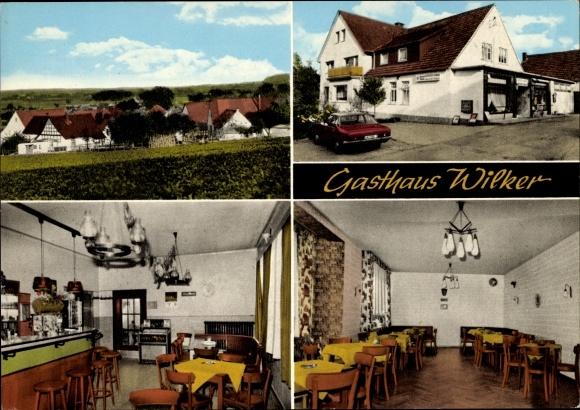 Ak Hüsede Bad Essen in Niedersachsen, Gasthaus Wilker, Inh. Kölzsch