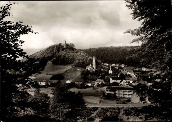 Ak Hohenecken Kaiserslautern in Rheinland Pfalz, Teilansicht vom Ort
