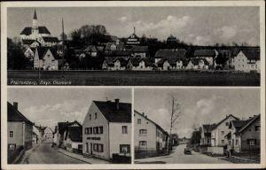 Ak Mallersdorf Pfaffenberg Niederbayern, Straßenpartien, Totalansicht vom Ort
