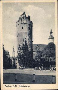 Ak Lubań Lauban Schlesien, Ansicht vom Brüderturm