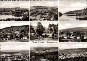 Ak Waldstadt Iserlohn im Märkischen Kreis, Seielrsee, Totalansicht, Rupenteich, Waldhotel, Minigolf