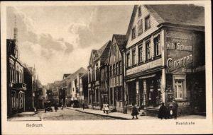 Ak Beckum im Kreis Warendorf, Geschäft von Wilhelm Schwinn in der Nordstraße, Straßenpartie