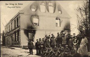 Ak Gwardeisk Kaliningrad Tapiau Ostpreußen, Magistrat, Soldaten, Kriegszerstörungen, I. WK