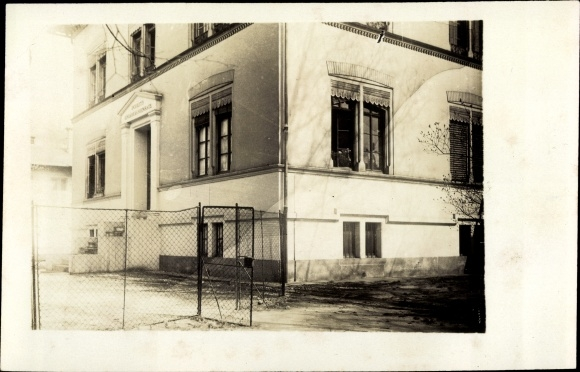 Foto Ak Frankfurt am Main, Theobaldstraße 16, Wohnhaus