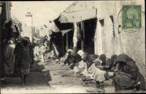 Ak Sfax Tunesien, Rue des Teinturiers, Färbergasse