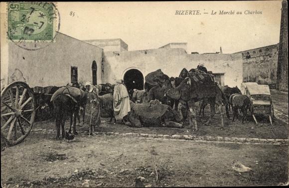 Ak Bizerte Tunesien, Le Marché au Charbon, Kohlenmarkt