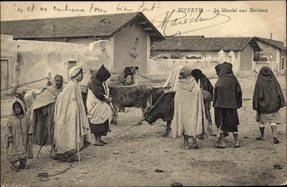 Ak Bizerte Tunesien, Le Marché aux Bestiaux