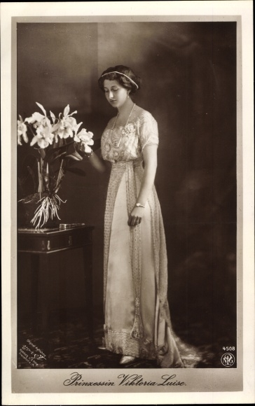 Ak Prinzessin Victoria Luise von Preußen, Portrait, NPG 4508