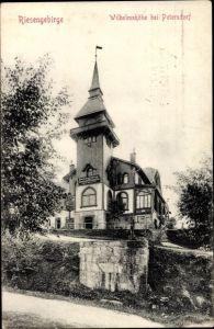 Ak Piechowice Petersdorf Riesengebirge Schlesien, Wilhelmshöhe