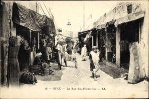 Ak Sfax Tunesien, La Rue des Teinturiers