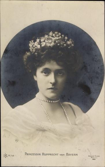 Ak Prinzessin Marie Gabriele von Bayern, Portrait, Novitas 71/48