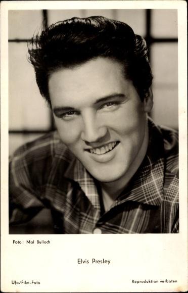 Ak Musiker und Schauspieler Elvis Presley, Portrait
