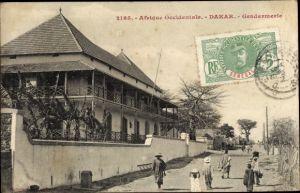 Ak Dakar Senegal, Afrique occidentale francaise, Gendarmerie