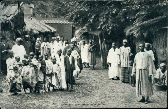 Ak Senegal, Une vue du village sénégalais