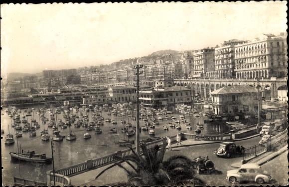 Ak Algier Alger Algerien, Rampes de l'Amirauté et Boulevard Amiral Pierre