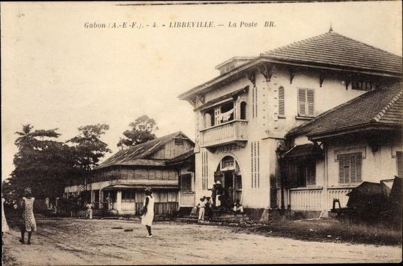 Ak Libreville Gabun, La Poste, Postamt