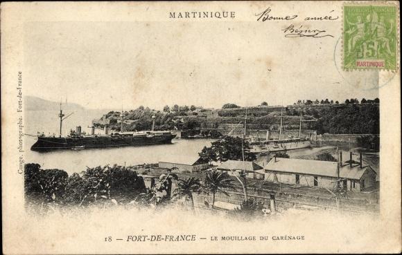 Ak Fort de France Martinique, Le Mouillage du Carénage