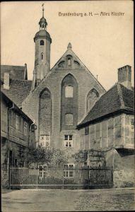 Ak Brandenburg an der Havel, Altes Kloster, Außenansicht