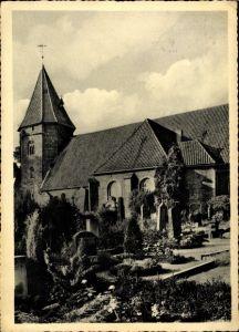 Ak Achim in Niedersachsen, Kirche, Friedhof