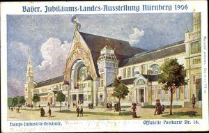 Künstler Ak Bayer. Jubiläums Landesausstellung Nürnberg 1906