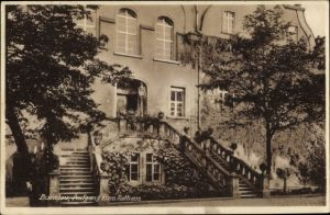 Ak Bolesławiec Bunzlau Schlesien, Aufgang zum Rathaus, Treppe