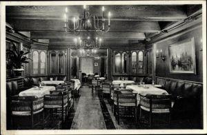 Ak Hamburg St. Pauli, Restaurant Alraun, Inh. Onkel Hugo, Altdeutsche Bierstube