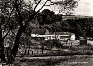 Ak Niedermühlen Asbach im Westerwald, Jugendheim, Außenansicht